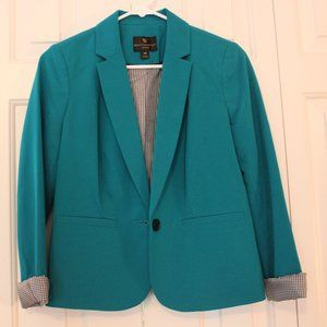 Turquoise Worthington Blazer